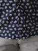 Picture of Men's cotton shirt cutaway slim, with all over floral print