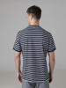 Picture of Men's striped t-shirt with contrast rib