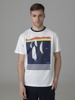 Picture of Men's t-shirt with front yachting print