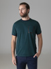 Picture of Men's striped cotton t-shirt with chest pocket