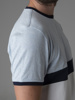 Picture of Men's melange t-shirt with a chest stripe