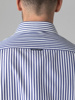 Picture of Cotton stripped shirt semi cutaway