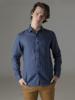 Picture of Men's linen shirt raf semi cutaway slim