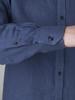 Picture of Men's linen raf shirt mao collar