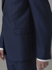 Picture of Suit with single breasted blazer jacket with two button opening