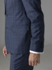 Picture of Wool mix plaid suit