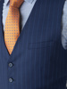 Picture of Wool mix stripped suit