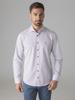 Picture of Cotton shirt jacquard print