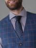 Picture of Plaid cotton linen vest