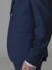 Picture of Wool blend suit with two button opening