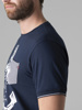 Picture of Cotton combed striped T-shirt