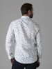 Picture of Floral Cotton mandarin linen shirt