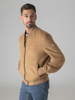 Picture of Faux suede bomber jacket