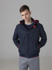 Picture of Bomber hoodie jacket high neck
