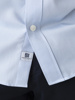 Picture of Men's cotton shirt in slim fit , 'TEMPERATURE CONTROL' & 'EASY CARE'