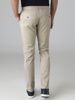 Picture of Men's cotton pants in modern fit with pleats