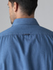 Picture of Men's cotton tencel shirt semi cutaway collar