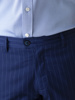 Picture of Men's stripped chinos pants with assorted blazer