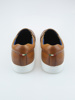 Picture of Men's leather loafers, knitted effect