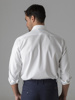 Picture of Men's cotton white shirt, semi cutaway, custom, SMART IRON FREE