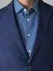 Picture of Ανδρικό Σακάκι Μπλέ Πικέ Ύφανση