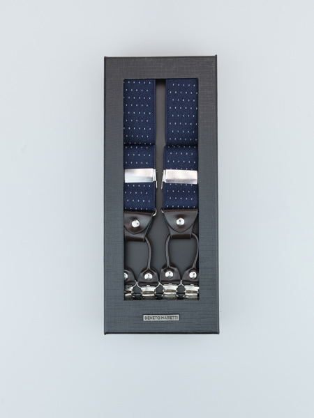 Picture of Men's Braces Suspenders with metal clip and jacquard design