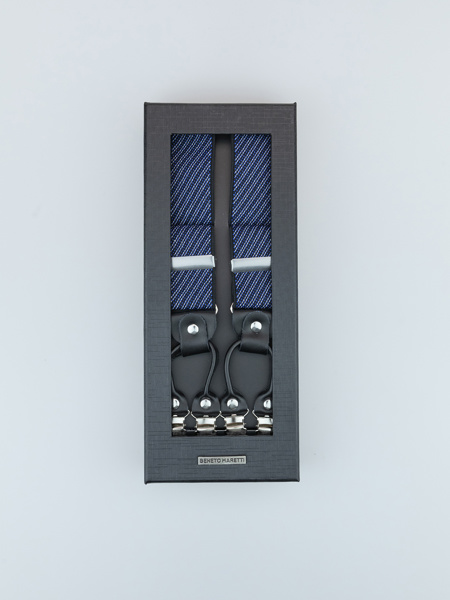 Picture of Men's adjustable braces suspenders Y-back, jacquard design
