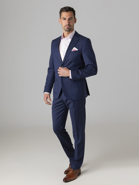 Picture of Wool mix suit with two button opening