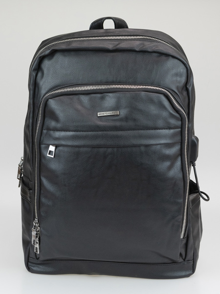 Picture of Back pack with zip oppening, usb port on the side