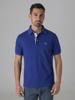 Picture of Men's polo pique combed cotton single colour shirt