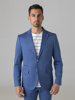 Picture of Cotton blazer jacket with two button opening