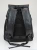 Picture of Unisex backpack in black with inner zip shoes pocket, usb port