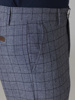 Picture of Μen's pants chinos blue check