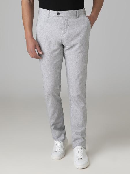 Picture of Μen's pants linen melange