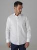 Picture of Cotton shirt semi cutaway collar