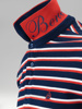 Picture of Mens polo pique stripped shirt