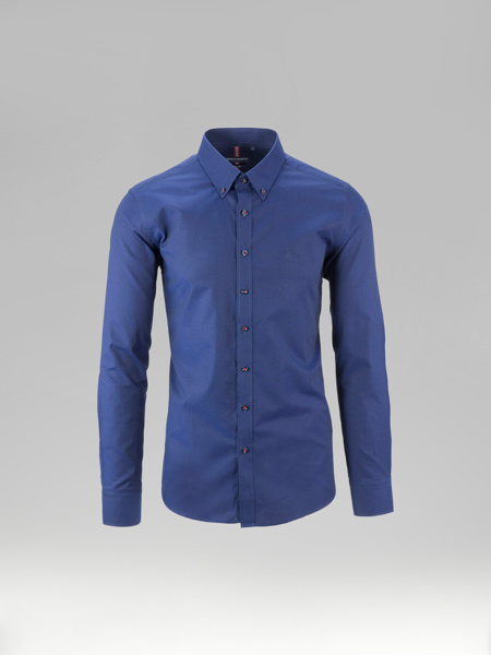 Picture of Cotton shirt button down collar