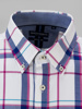 Picture of Check cotton shirt button down