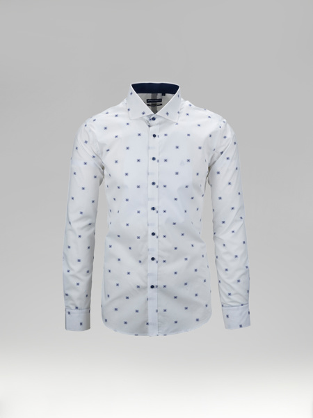 Picture of Jacquard cotton shirt