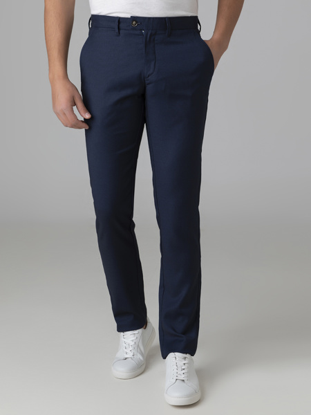 Picture of Men's chinos pants with assorted vest and blazer