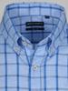 Picture of Men's Cotton Linen Check Shirt