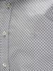 Picture of Cotton shirt jacquard polka dots print