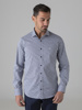 Picture of Check shirt cutaway collar