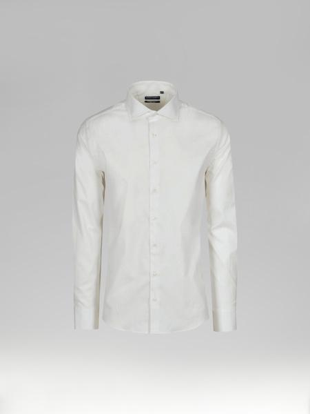 Picture of Men's White Shirt Cutaway Collar
