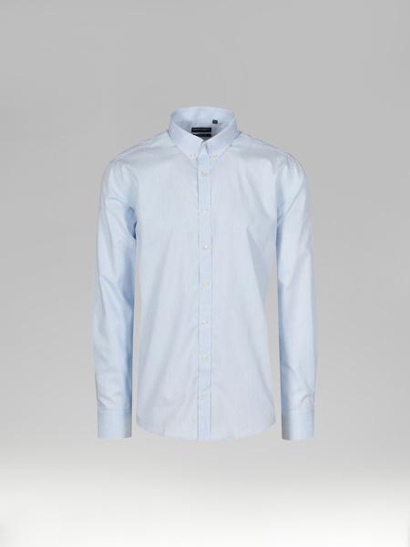 Picture of Men's Light Blue Check Shirt