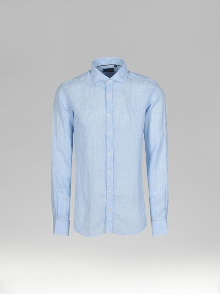 Picture of Men's Check Linen Shirt