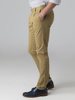 Picture of Men's pleated pants with cuffed bottom