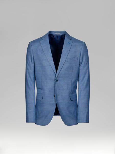 Picture of Check men's blazer jacket