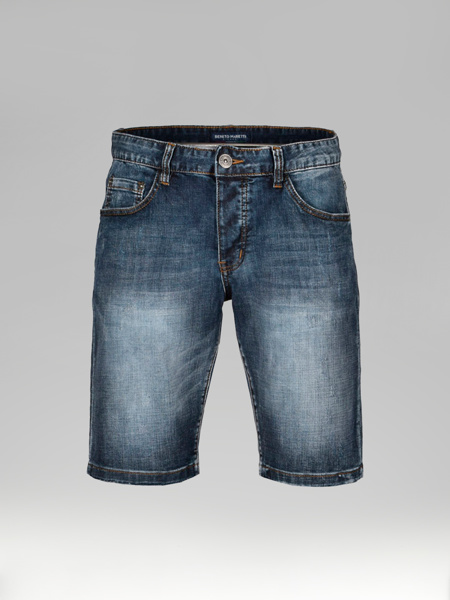 Picture of Five pocket jeans shorts