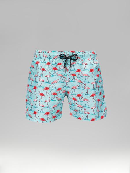 Picture of Swim Short with Flamingo